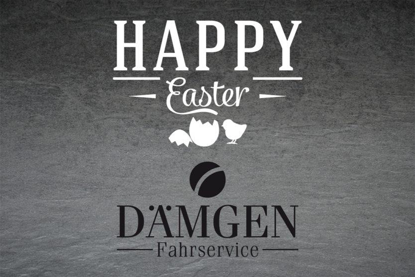 Dämgen Fahrservice wünscht frohe Ostern
